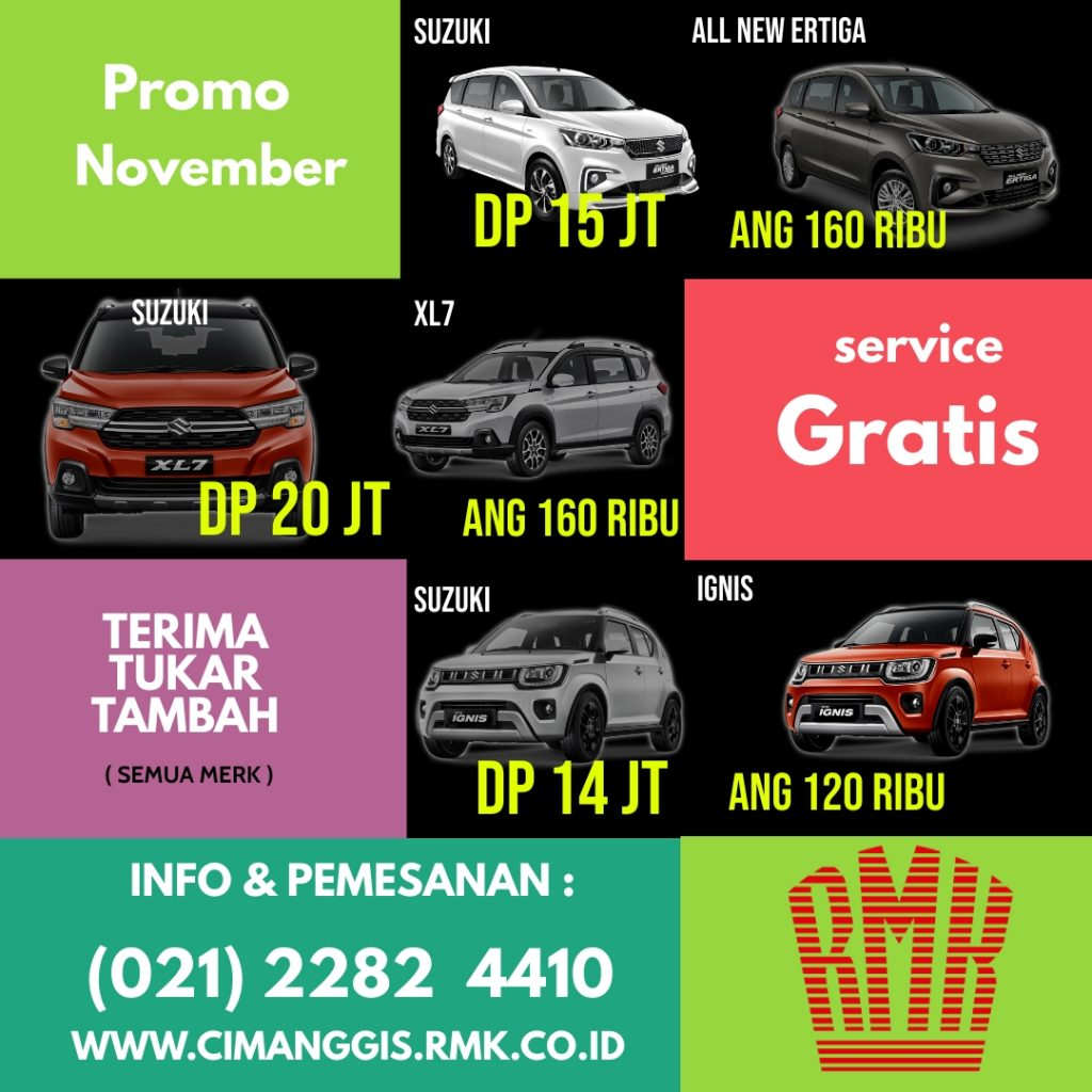 Promo All new Ertiga RMK Cimanggis Depok
